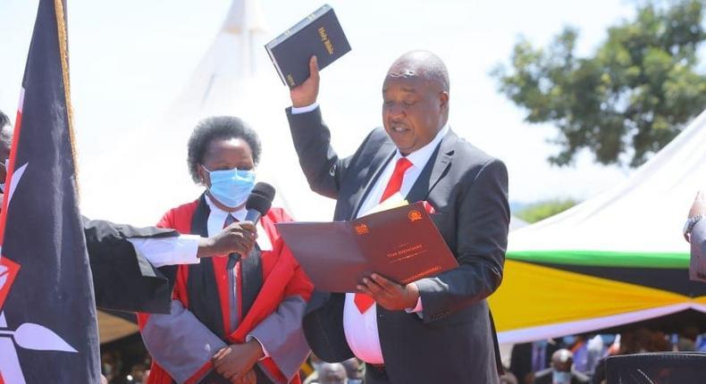 Nyamira Governor Amos Nyaribo