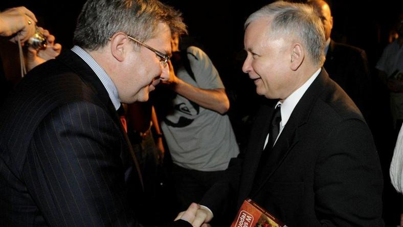 Ryszard Czarnecki i Jarosław Kaczyński