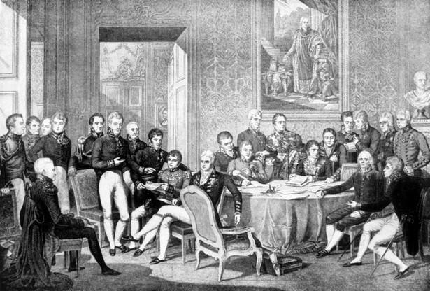Kongres wiedeński, Jean-Baptiste Isabey