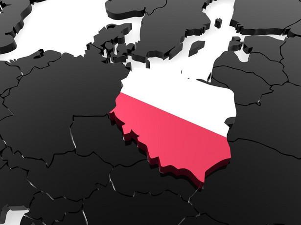 Polska na mapie Europy Fot. Shuttestock