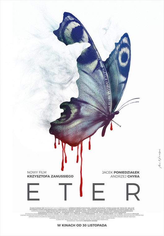 """Plakat do filmu """"Eter"""" Krzysztofa Zanussiego"""