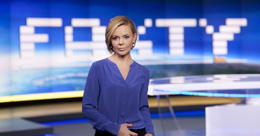 """Prowadzone m.in. przez Justynę Pochanke """"Fakty"""" są od wielu miesięcy najchętniem oglądanym serwisem"""