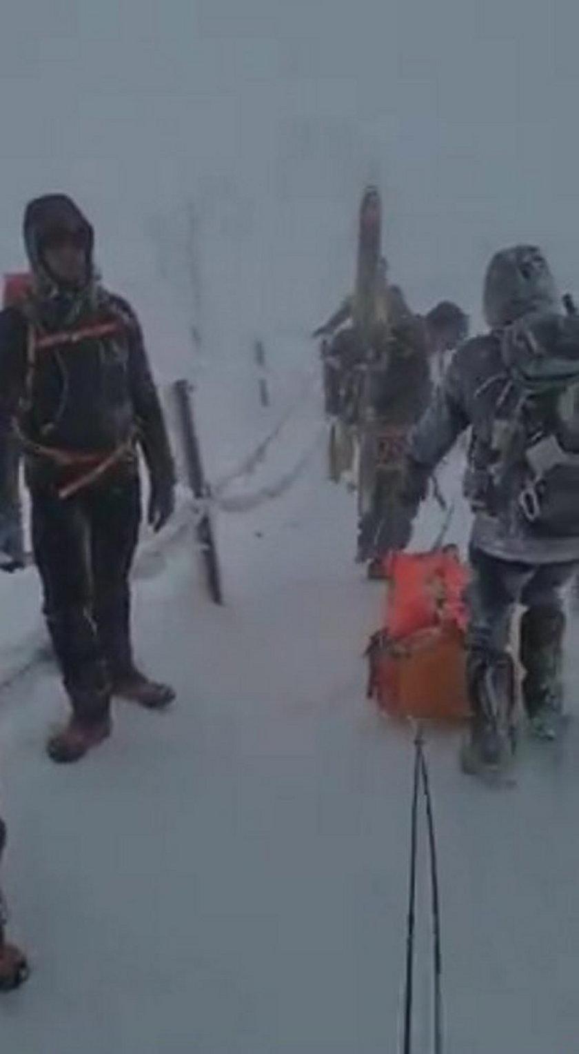 Akcja ratunkowa GOPR