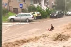 Valjevska Banovo brdo Beograd Potop Kiša