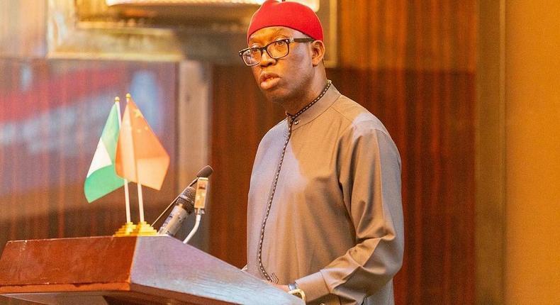 Delta state Governor, Ifeanyi Okowa. (Pulse)