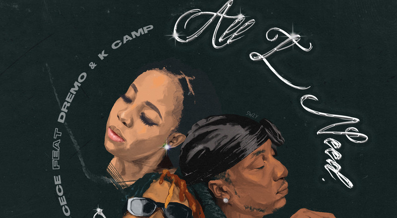 "CeCe enlists KCamp and Dremo for ""All I Need"" (LISTEN)"