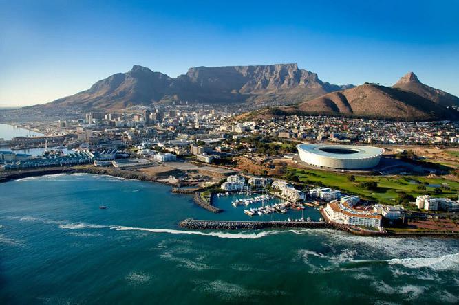 Cape Town Central. (travelscor)