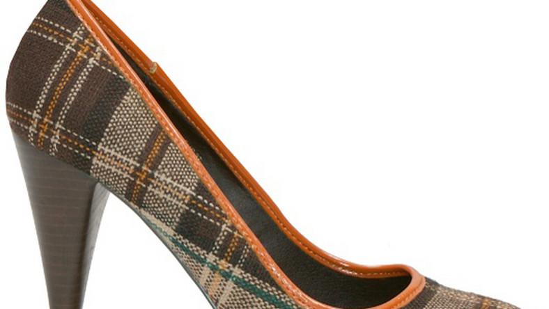 Buty na wysokim słupku; H&M, wzór