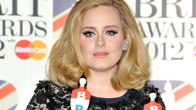 Adele z dwoma nagrodami BRIT Awards