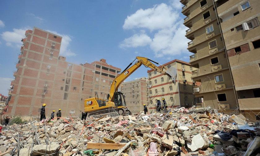 Katastrofa budowlana w Kairze