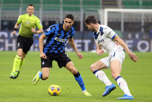 Detalj sa meča Inter - Atalanta