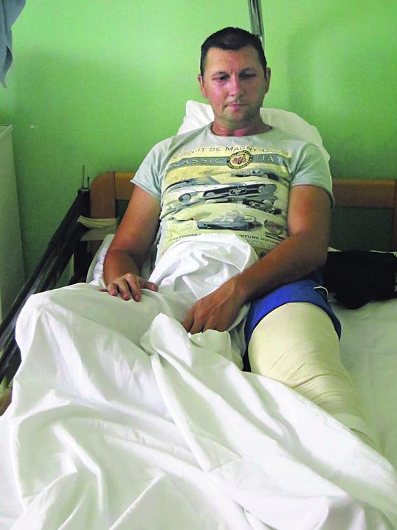 Darko Srećković: Osetio sam jak bol, kao da sam otkinuo nogu