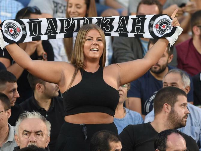 Ovako se navija za Partizan