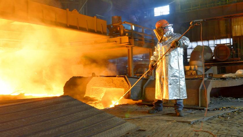 Produkcja przemysłowa w Polsce luty 2021