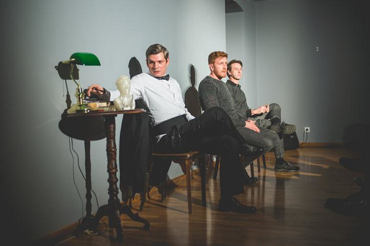 Predstava Tri lica ogledala, Foto UK Parobrod 4