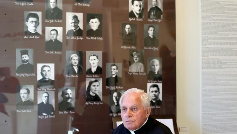 "Catholic priest Ghergj Simoni, 82, was imprisoned for 10 years for writing a ""Letter to Lucifer"" meant for Albanian dictator Enver Hoxha"