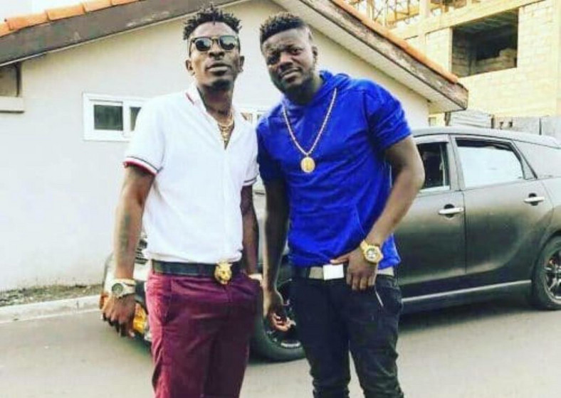 Shatta Wale and Pope Skinny