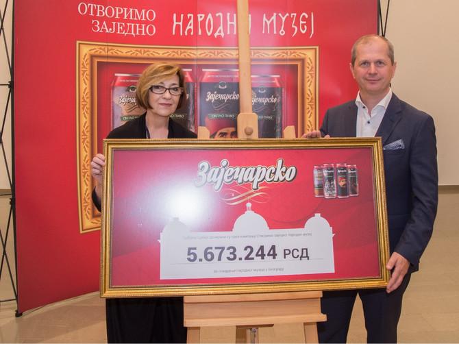 Više od 5 miliona dinara za Narodni muzej u Beogradu od građana Srbije