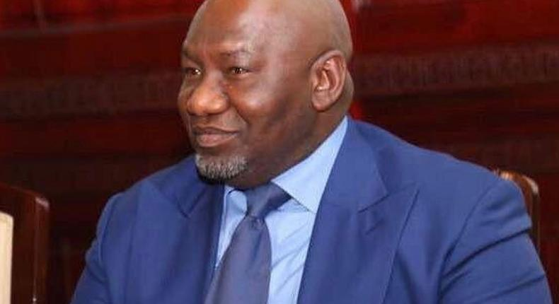 Nigerian billionaire and founder of Aiteo group Benedict Peters