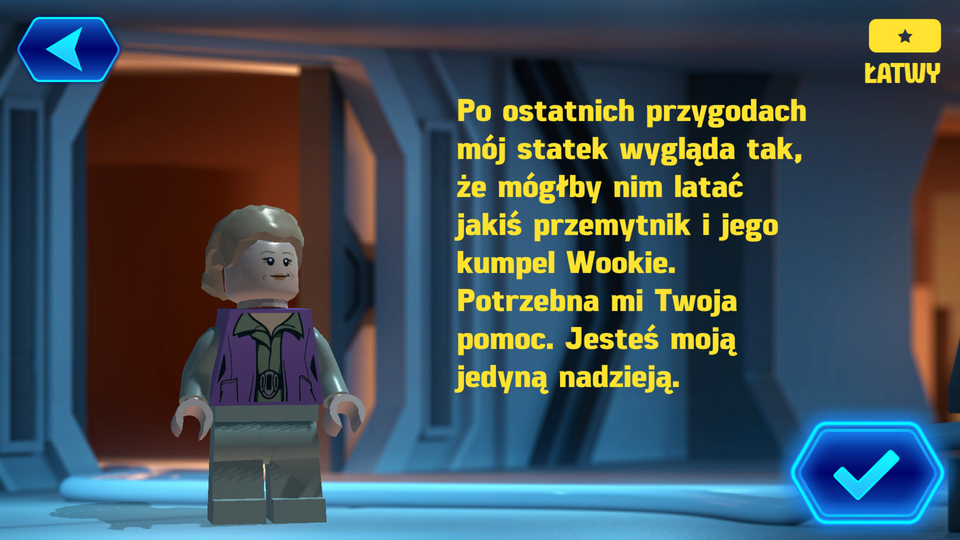 LEGO Star Wars Force Builder - recenzja. Zabawa tylko dla ...
