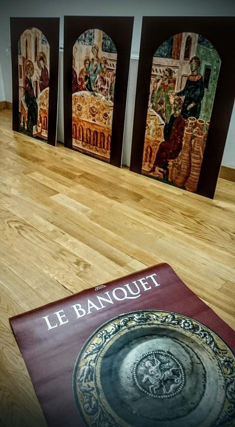 """Izložba je deo naučno-umetničkog projekta """"Živeti prošlost - srpska srednjovekovna gastronomija"""""""