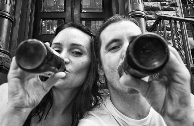 """""""Fotografije koje svedoče o našoj ljubavi"""":bračni par Merendino na početku suočavanja s bolešću"""