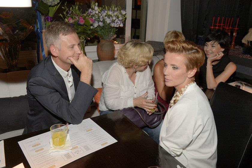 Kasia Zielińska na urodzinach bloga