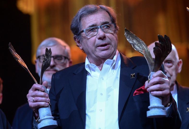 Podwójny laureat Orłów 2016 –Janusz Gajos