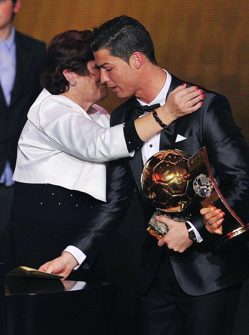 Wpadka matki Cristiano Ronaldo!