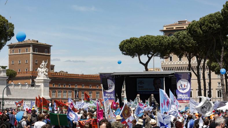 Marsz dla Życia w Rzymie
