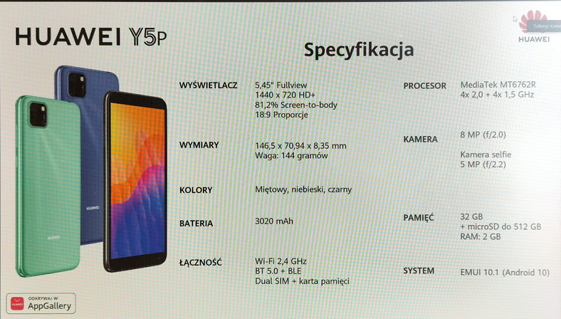 Prezentacja Huawei