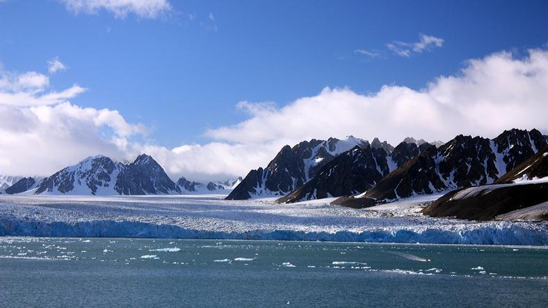 Monacogletscher- Spitzbergen