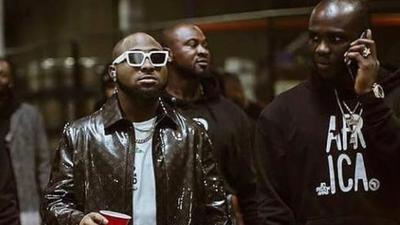Davido attends candlelight service held for late close associate Obama DMW