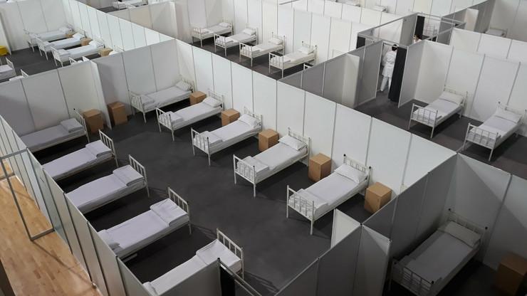 Hala Čair improvizovana bolnica
