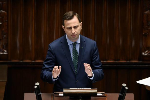 Kosiniak-Kamysz podczas posiedzenia Sejmu