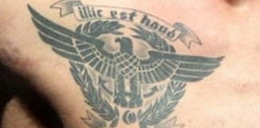Kontrowersyjny tatuaż rywala Pudziana