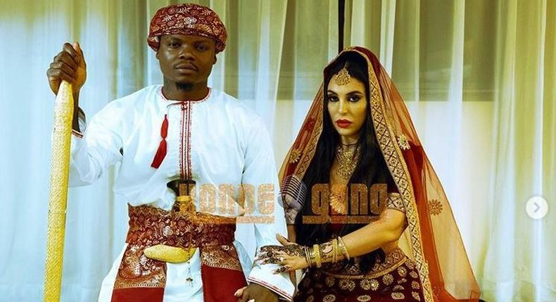 Harmonize weds Italian girlfriend Sarah in lavish affair (Konde Gang)