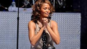 Whitney Houston na scenie z córką