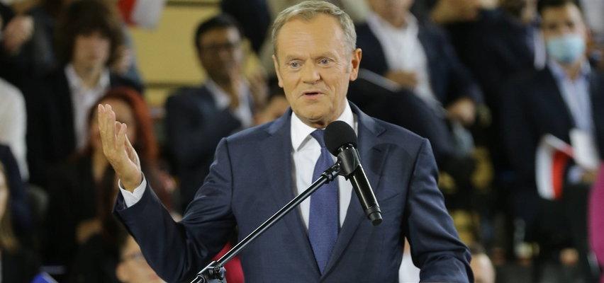 Konwencja PO. Donald Tusk ma propozycję dla Jarosława Kaczyńskiego