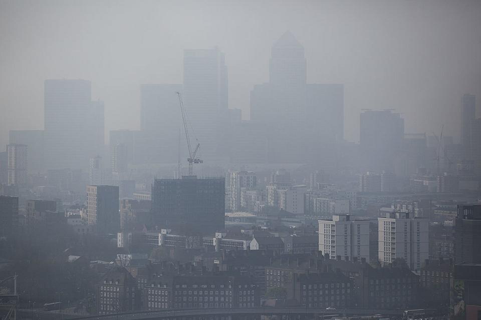 Smog w Londynie