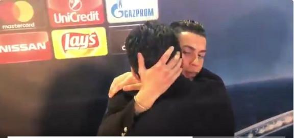 Kristijano Ronaldo i Đanluiđi Bufon