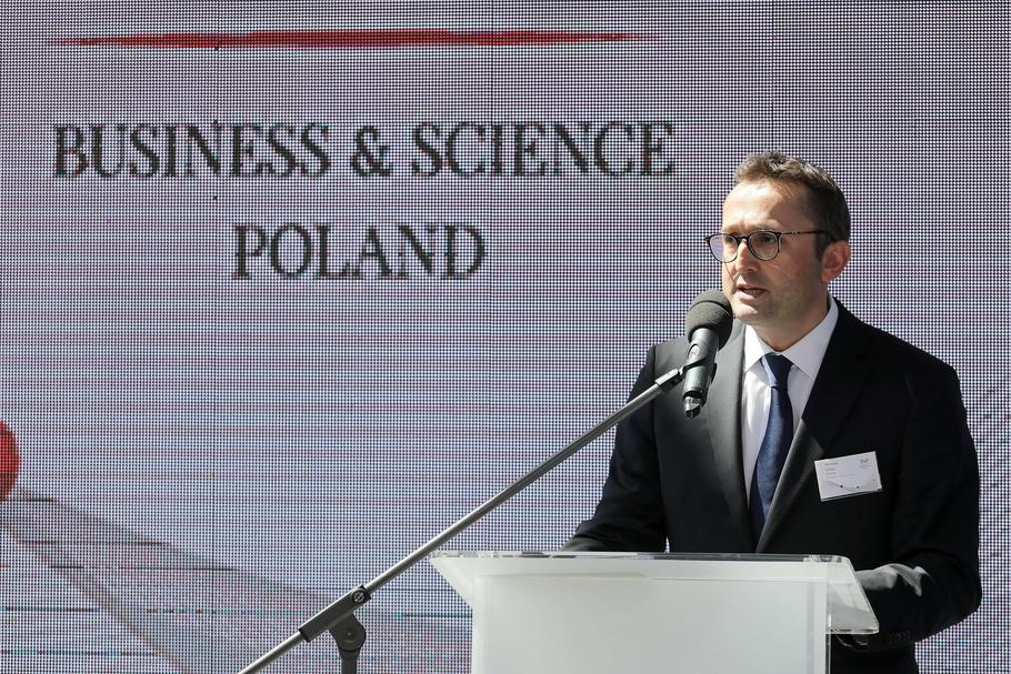 Tomasz Chmal, szef Business & Science Poland
