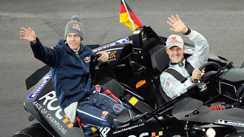 Sebastian Vettel i Michael Schumacher