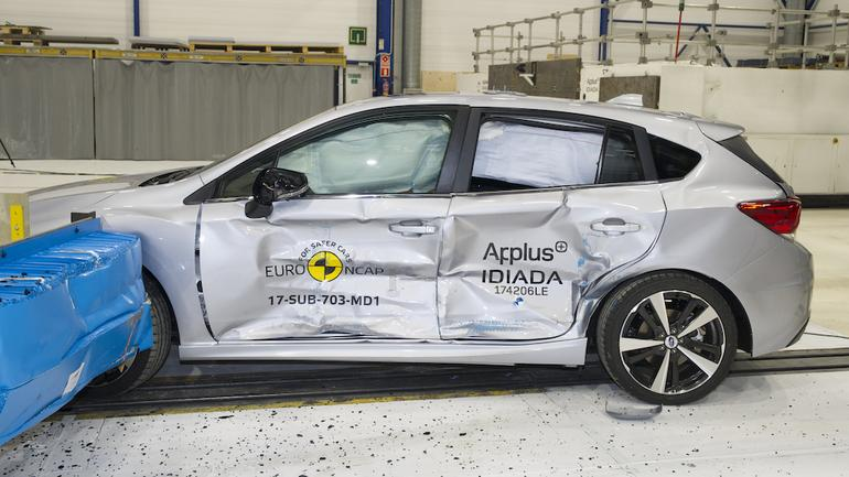 Crash-test Subaru Impreza