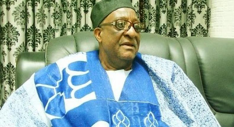 Senator Walid Jibrin, Chairman, Board of Trustees (BoT) of the Peoples Democratic Party. (PDP).