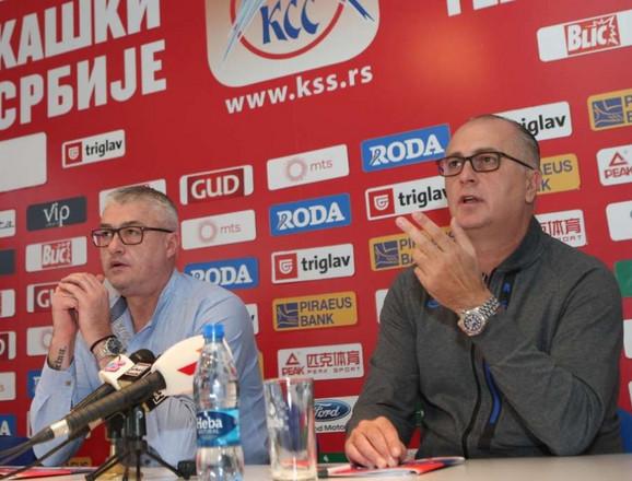 Predrag Danilović i Jovica Antonić