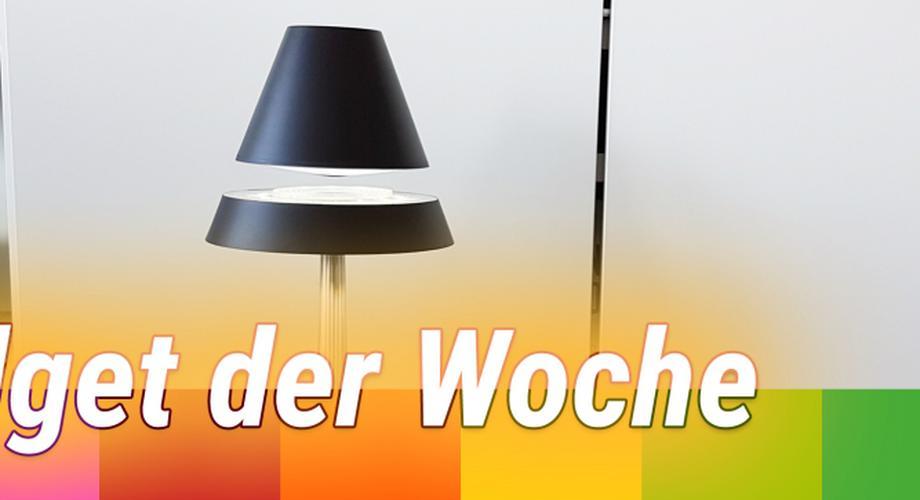 Gadget der Woche 63: schwebende SciFi-Lampe