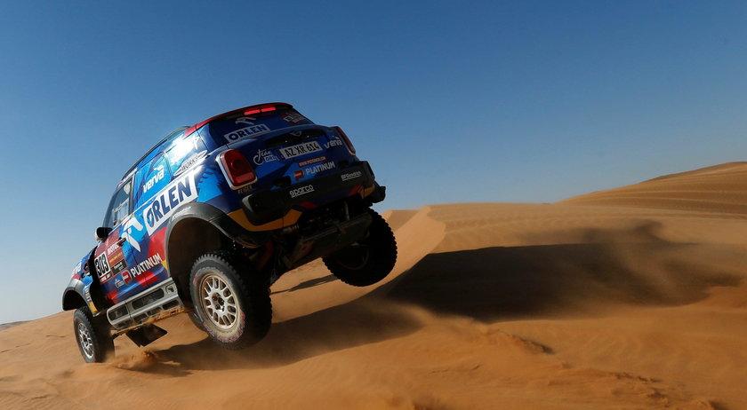 Jakub Przygoński szósty na ósmym etapie Rajdu Dakar