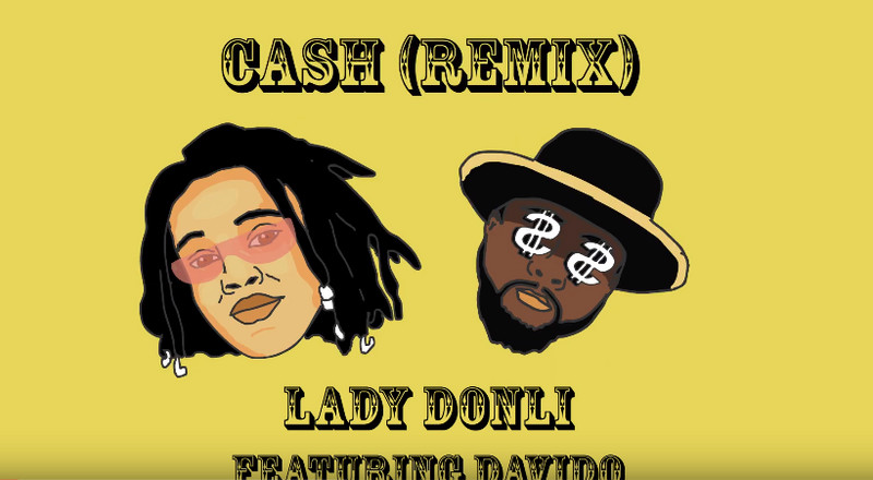 Davido features on Lady Donli's 'Cash (Remix)'