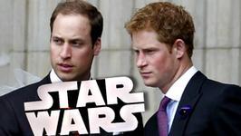 """""""Gwiezdne wojny"""" z udziałem książąt Williama i Harry'ego?!"""